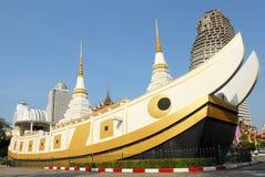 Wat yannawatempel royaltyfria foton