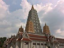 Wat Yansangararam. Temple Wat Yansangararam  in Pattaya Thailand Royalty Free Stock Photography