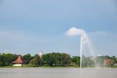 Wat Yansangwararam Pattaya Royaltyfri Foto
