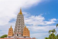 Wat Yansangwararam Temple Royalty-vrije Stock Foto's