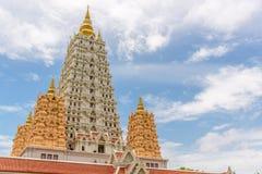 Wat Yansangwararam Temple Photographie stock