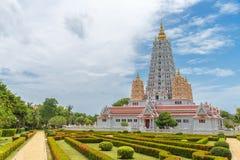 Wat Yansangwararam Temple. Wat Yansangwararam Temple in Pattaya, Thailand Stock Photo