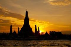 Wata Arun świątynia w Bangkok Thailand Fotografia Royalty Free