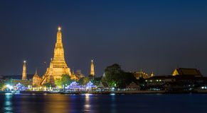 Wata arun, Bangkok Zdjęcia Royalty Free