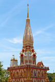 Wata Chalong świątynia, Tajlandia Zdjęcia Royalty Free