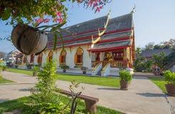 Wata Chiang mężczyzna świątynia, Chiang Mai, Tajlandia stara świątynia w Chiang Mai Zdjęcia Royalty Free