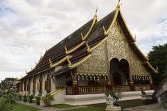 Wata Chiang mężczyzna budował w 1297 jako Chiang Mai ` s pierwszy świątynia dalej Fotografia Royalty Free