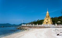 Wata Laem Pagodowy Sor, Koh Samui, Tajlandia Obrazy Royalty Free