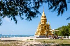 Wata Laem Pagodowy Sor, Koh Samui, Tajlandia Zdjęcie Stock