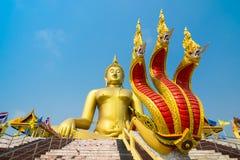 Wata muang Ang paska świątynia w Tajlandia Fotografia Stock