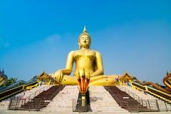 Wata muang ang paska Thailand świątynia Zdjęcia Royalty Free
