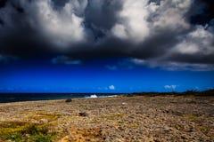 Wata Mula na westpoint Curacao Obraz Stock