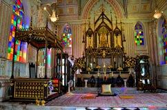 Wata Niwet Thamma krewetka Ayutthaya Tajlandia Zdjęcia Royalty Free