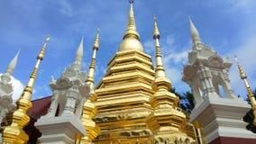 Wata Pantao świątynia przy Chiang mai, Tajlandia zbiory wideo