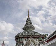Wata Pho świątynia w Bangkok, Tajlandia obrazy royalty free