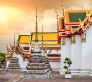Wata Pho świątynia w Bangkok, Tajlandia Obrazy Stock