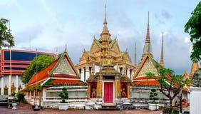Wata Pho świątynia w Bangkok, Tajlandia Zdjęcia Royalty Free