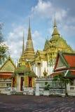 Wata pho świątynny Bangkok, Tajlandia Zdjęcie Stock