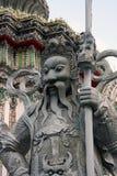 Wata Pho Bangkok statua Zdjęcie Stock