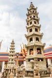 Wata Pho pagoda w Bangkok Obrazy Stock