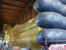 Wata pho śpi Buddha Obraz Royalty Free