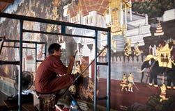 Wata Phra Kaew świątynia, Tajlandia Zdjęcia Royalty Free
