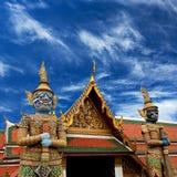 Wata Phra Kaew świątynia w Bangkok, Tajlandia Obraz Stock