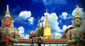 Wata Phra Kaew Uroczysty pałac Bangkok Zdjęcie Royalty Free