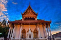 Wata Phra Mahathat Woramahawihan Nakhon Si Thammarat Znacząco miejsca buddyzmu punkt zwrotny zdjęcie stock