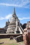Wata Phra Si Sanphet ruiny, Ayutthaya Zdjęcia Royalty Free