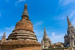 Wata phra si sanphet wata mongkol bophit Stary pagodowy Świątynny Histo Zdjęcie Stock