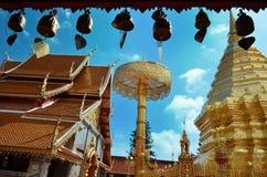 Wata Phrathat Doi Suthep świątynia W Chiang Mai Obrazy Royalty Free