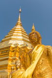 Wata Phrathat Doi Suthep świątynia w Chiang Mai, Tajlandia Obrazy Royalty Free