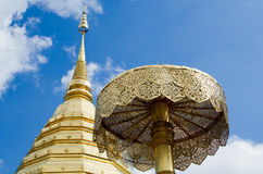 Wata Phrathat Doi Suthep Chiang Mai obrazy stock