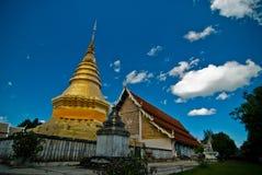WATA PHRATHAT JOMPING świątynia Zdjęcie Stock