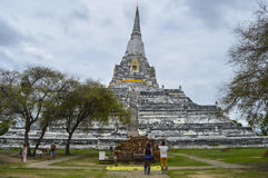 Wata Phu Khao paska świątynia Tahiland Obrazy Royalty Free