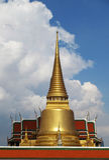 Wata pra kaew, Uroczysty pałac obrazy stock