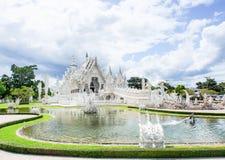 Wata Rong Khun świątynia w Chiangrai, Tajlandia 3 Zdjęcia Royalty Free