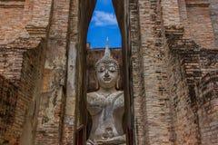 Wata Sri kmotr Sukhothai Tajlandia Obrazy Royalty Free