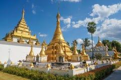 Wata Thaiwatthanaram świątynia Obraz Stock