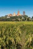 Wata tham sua blisko miasta Kanchanaburi w Środkowym Tajlandia Zdjęcia Royalty Free