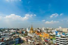 Wata traimitr withayaram świątynia w Bangkok, Tajlandia zdjęcia royalty free