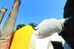 Wata Yai Chai Mongkhon świątynia w Ayutthaya, Tajlandia Fotografia Royalty Free