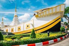Wata Yan Nawa świątynia w Bangkok, Tajlandia zdjęcia royalty free