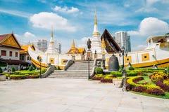 Wata Yan Nawa świątynia w Bangkok, Tajlandia obrazy stock