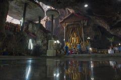 Wata zakazu Tham świątynia, Tajlandia Zdjęcia Stock