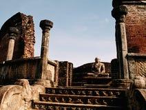 Watadage, polonnaruwa-Sri Lanka Imagen de archivo