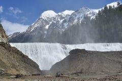 Wataka spadki Widok góry Fotografia Stock