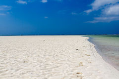 Kenya. The most beutiful beach of the area. Royalty Free Stock Photo