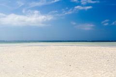 Kenya. The most beutiful beach of the area. Stock Photography
